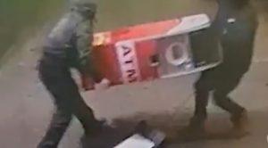 Ladrones roban cajero automático en Nueva York con cientos de dólares