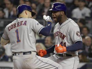 Astros apabullan Yankees y se colocan a un paso de ganar la Serie