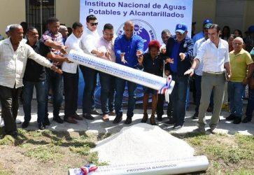 BAHORUCO: INAPA invertirá más de $100 millones en acueductos
