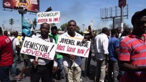 Mientras sectores exigen su renuncia, presidente Haití pide ayuda a Trump