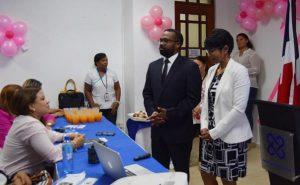 PUERTO PLATA: Fiscalía incentiva colaboradoras prevenir cáncer de seno