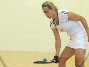 Claudine García, primera electa a la inmortalidad en racquetbol