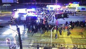 CHILE: Un hombre arrolla a un grupo de manifestantes y mata dos personas