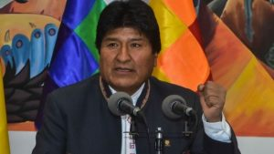 BOLIVIA: TSE confirma victoria Evo Morales sin necesidad 2da. vuelta