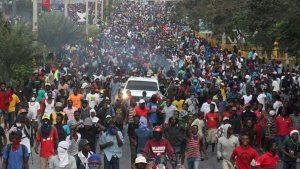 Haitianos en las calles exigen renuncia de presidente Jovenel Moise