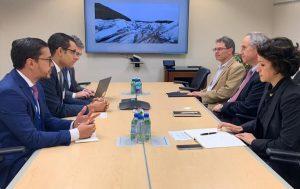 Ministro Economía RD agota intensa agenda de diálogo con el BID
