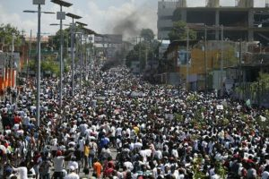 HAITI: Extraordinaria multitud exige la renuncia de presidente Jovenel Moise