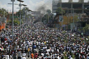 HAITI: Extraordinaria multitud exige la renuncia del presidente Moise