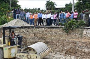 SJM: MOPC restablecerá el domingo puente une Vallejuelo con El Cercado