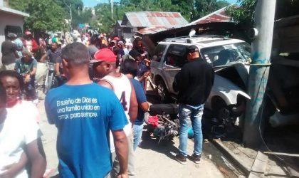PUERTO PLATA: Un muerto y 2 heridos en accidente de tránsito en Imbert