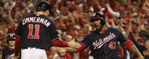 Nacionales de Washington a la Serie Mundial; Astros adelante de Yankees