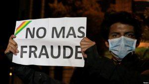 BOLIVIA: Inicia un paro cívico a la espera resultados de las elecciones