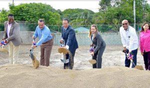 SAN CRISTOBAL: Dan primer palazo construcción estancia infantil en Nigua