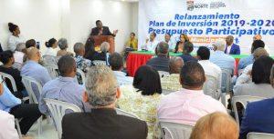 SDN: Invertirán RD$80 millones en obras del presupuesto participativo