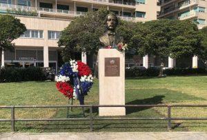 GENOVA: Consulado RD inaugura busto en honor a Juan Pablo Duarte