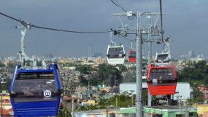 Teleférico de Santo Domingo será sometido a fase de mantenimientos