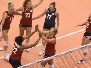 EEUU derrota a la RD en el Voleibol Continental