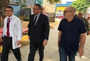 """Ministro: """"Valió la pena esperar los trabajos hospitales de Santiago"""""""