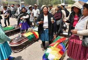 BOLIVIA: La muerte de 9 personas agrava aún más la profunda crisis