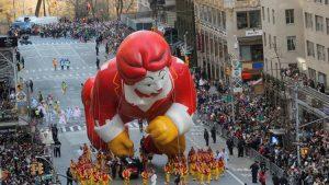 Globos alzan vuelo en el gran Desfile del Día de Acción de Gracias de NY