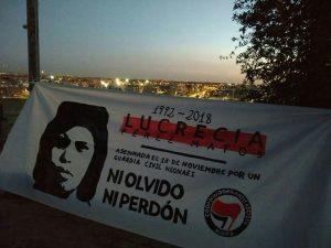 MADRID: Recuerdan con flores a dominicana asesinada por neonazis