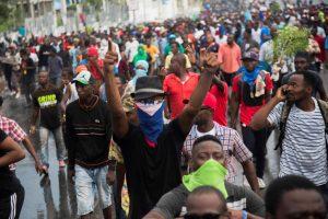 Miles haitianos reanudan protestas para exigir dimisión Jovenel Moise