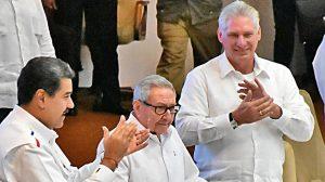 Nicolás Maduro y Díaz Canel llaman aprovechar repunte izquierda AL
