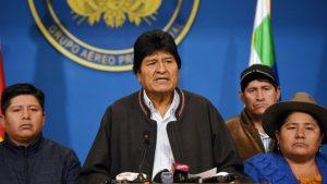 BOLIVIA: Detienen a la expresidenta del TSE tras dimisión de Morales