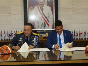 Fedombal y PN firman acuerdo para fomentar espíritu deportivo