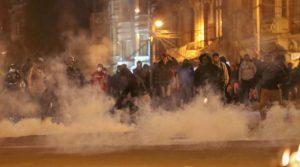 BOLIVIA: La Paz vive otra noche de incidentes cerca de sede Gobierno
