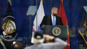 Donald Trump rinde tributo al Día de los Veteranos en Nueva York
