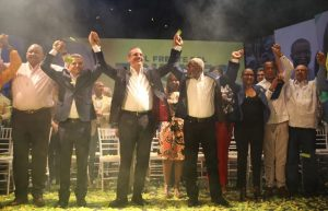 Frente Amplio proclama Abinader como su candidato presidencial