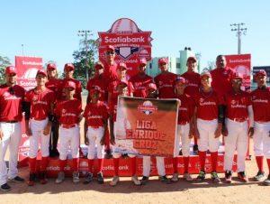 Enrique Cruz y Acosta Paredes avanzan en Clásico Scotiabank Pequeñas Ligas