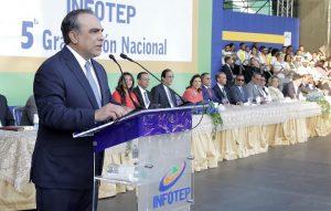 Marranzini cita desafíos de la formación técnica en República Dominicana