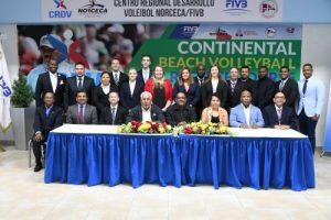 Países del Caribe en Curso para Árbitros de Voleibol Playa