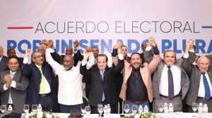 Partidos oposición en RD se alían a nivel senatorial en 24 provincias