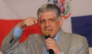 El PRM y DXC proclamarán a Eduardo Estrella candidato a senador