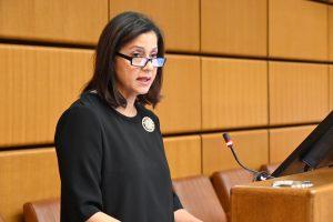 VIENA: Embajadora RD emociona con discurso sobre las Mirabal