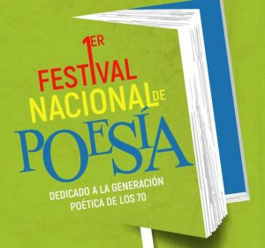 Festival Nacional de Poesía será dedicado a generación poetas de los 70