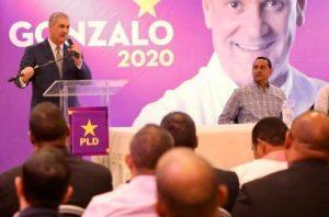 Gonzalo dice  busca un cambio de «progreso y prosperidad» en RD