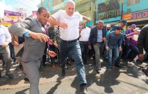 Gonzalo inicia campaña política en sectores populares de la capital