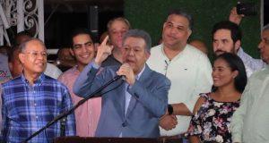 Leonel confirma la oposición forma bloque para enfrentar PLD en 2020