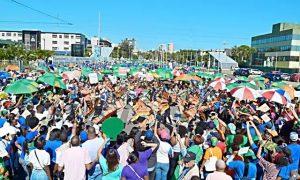 """Miles participan en """"la Marcha de las Mariposas"""" en rechazo a la violencia"""