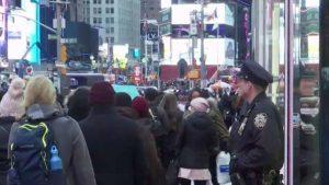 Falsa amenaza de bomba en Times Square pone a Nueva York en alerta