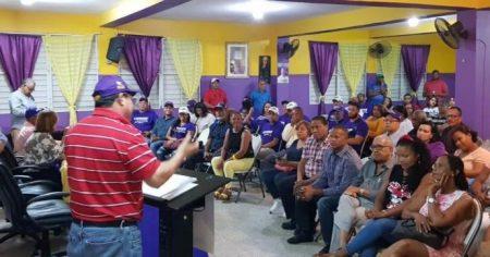 Seccional del PLD en Puerto Rico celebra asamblea informativa