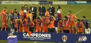 Cibao FC vence a San Cristóbal y se proclama campeón LDF