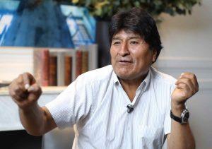 Evo Morales: No me arrepiento de haber querido gobernar 20 años