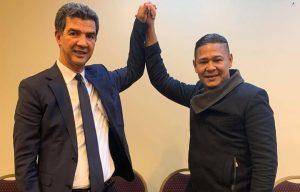 """Jeffrey """"el Canta Lindo"""" apoya candidatura de Ydanis Rodríguez"""