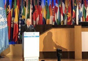 El Ministro de Cultura de la RD expone en la UNESCO