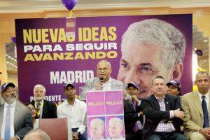 MADRID: Peledeístas realizan gran acto de apoyo a Gonzalo Castillo